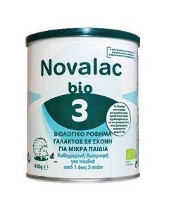 Novalac Bio 3 Βιολογικό Γάλα σε Σκόνη για Παιδιά από 1 έως 3 Ετών 400gr