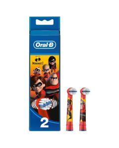 Oral-B Stages Power Incredibles 2 Kids, 2τμχ
