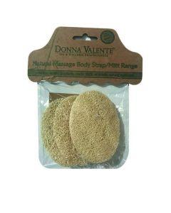 Donna Valente Valente Facial Disks Loofah, 3τμχ