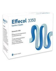 Epsilon Health Effecol 3350 Μακρογόλη για την αντιμετώπιση της δυσκοιλιότητας, 24φακελίσκοι