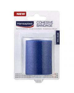 Hansaplast Cohesive Bandage Αυτοκόλλητος Επίδεσμος 4m x 6cm, 1τμχ