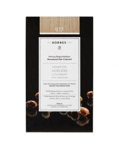 Korres Argan Oil Ageless Colorant 9.17 Κατάξανθο Ανοικτό Μπέζ, 50ml