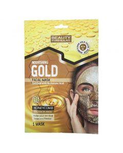 Beauty Formulas - Nourishing Facial Mask - Gold, 1mask