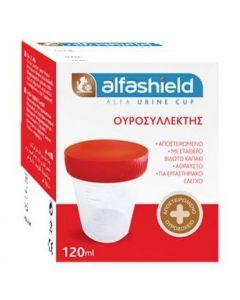 Alfa Urine Cup Δοχείο Συλλογής Ούρων Αποστειρωμένο, 120ml