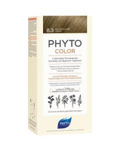 Phyto Phytocolor, Μόνιμη Βαφή Μαλλιών 8.3 Ξανθό Ανοιχτό Χρυσό, 1τμχ