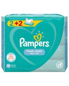 Pampers Fresh  2+2 Δώρο, 4x52τμχ