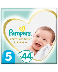 Pampers Premium Care Πάνες Jumbo Pack No5 (11-18kg), 44τμχ