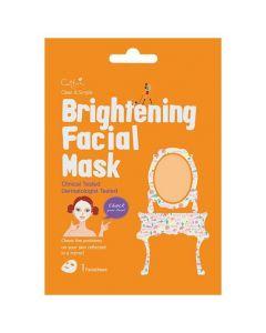 Vican Cettua Clean & Simple Brightening Facial Mask, 1τμχ