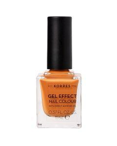 Korres Gel Effect Nail Color 92 Mustard, 11ml