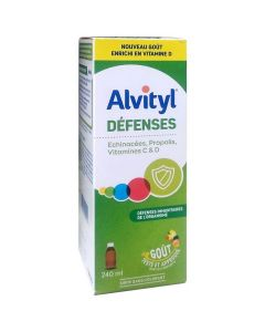 Alvityl Defences Echinacea, Propolis & Vitamin C & D Syrup, 240ml