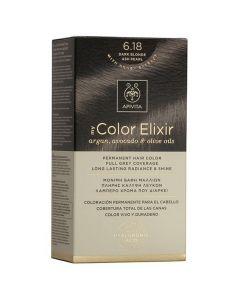 Apivita My Color Elixir Βαφή Μαλλιών N6.18, 1τμχ