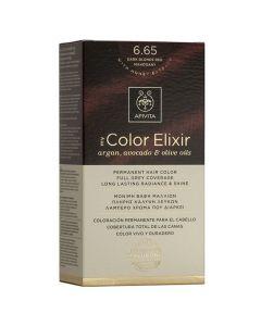 Apivita My Color Elixir Βαφή Μαλλιών N6.65, 1τμχ