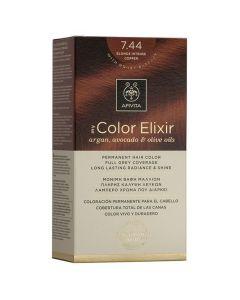 Apivita My Color Elixir Βαφή Μαλλιών N7.44, 1τμχ