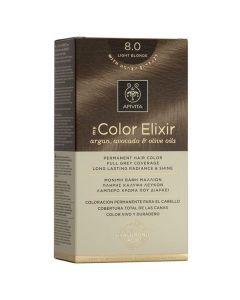 Apivita My Color Elixir Βαφή Μαλλιών N8.0, 1τμχ