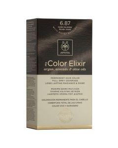 Apivita My Color Elixir Βαφή Μαλλιών N6.87, 1τμχ