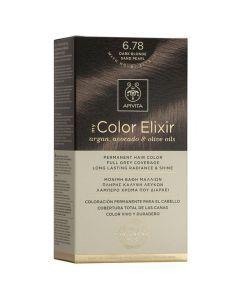 Apivita My Color Elixir Βαφή Μαλλιών N6.78, 1τμχ