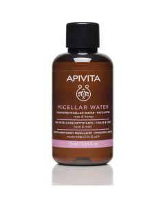 Apivita Cleansing Micellar Water for Face & Eyes Rose & Honey, 75ml