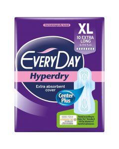 Every Day Σερβιέτες Extra Long/Ultra Plus Hyperdry, 10τμχ