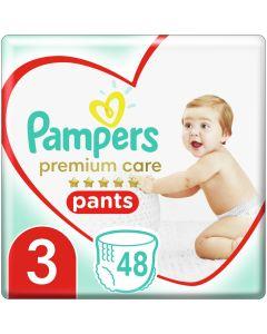 Pampers Premium Care Pants Πάνες Jumbo Pack No3(6-11kg), 48τμχ