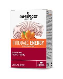 Superfoods Ιπποφαές Energy, 30caps