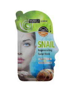 Beauty Formulas Snail Regenerating Facial Mask, 1τμχ