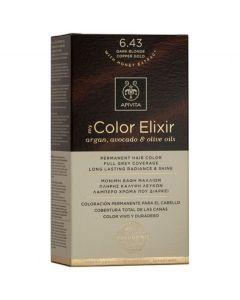 Apivita My Color Elixir Βαφή Μαλλιών N. 6,43, 1τμχ
