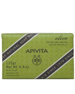 Apivita Olive Soap, Σαπούνι με ελιά, 125gr