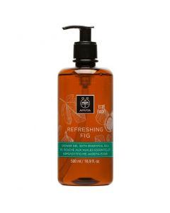 Apivita Eco Pack Shower gel Refreshing Fig, 500ml