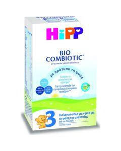 Hipp Γάλα σε Σκόνη Bio Combiotic 3 12m+,  600gr