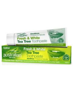 Optima Australian Organic Tea Tree Fresh & White Toothpaste, 100ml