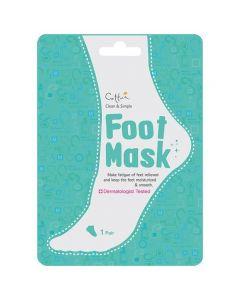 Vican Cettua Clean & Simple Foot Mask, 1 ζευγάρι