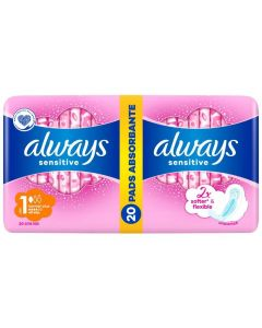 Always Sensitive Ultra Normal Plus Economy Pack Size 1, 20τμχ