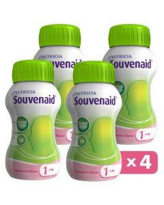 Nutricia Souvenaid Φράουλα, 4x125ml