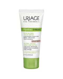 Uriage Hyseac 3-Regul Global Tinted Skin Care SPF30, 40ml
