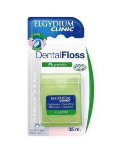 Elgydium Dental Floss Fluoride, 35m