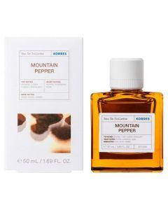 Korres Mountain Pepper Eau de Toilette, 50ml
