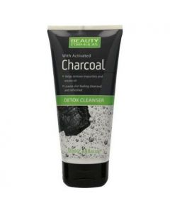 Beauty Formulas Activated Charcoal Detox Cleanser, 150ml
