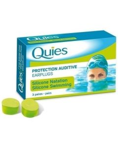 Pharmaq Quies Ωτοασπίδες από Σιλικόνη Κατάλληλες για Κολυμβητές, 3 ζευγάρια