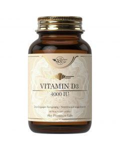 Sky Premium Life Vitamin D3 4000iu, 60tabs