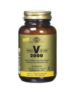Solgar Formula VM-2000, 30tabs