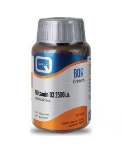 Quest Vitamin D3 2500iu, 60tabs