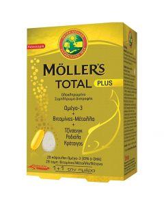Moller's Total Plus, 28tabs &28caps