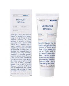 Korres Midnight Dahlia Body Milk, 125ml