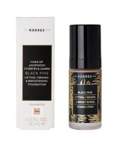 Korres Black Pine Lifting, Firming & Brightening Foundation BPF00, 30ml