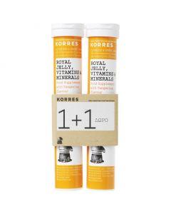 Korres Royal Jelly Vitamins & Minerals, 2x18ff.tabs