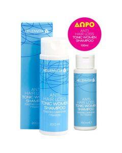 Helenvita Anti Hair Loss Tonic Women Shampoo, 200ml & Δώρο Επιπλέον Ποσότητα, 100ml