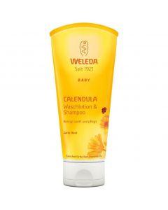 Weleda Calendula Shampoo & Body Wash, 200ml