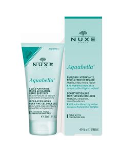 Nuxe Set Aquabella Beauty-Revealing Moisturising Emulsion, 50ml & ΔΩΡΟ Aquabella Micro-Exfoliating Purifying Gel, 30ml