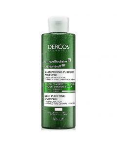 Vichy Dercos Anti-Dandruff Deep Purifying Shampoo, 250ml