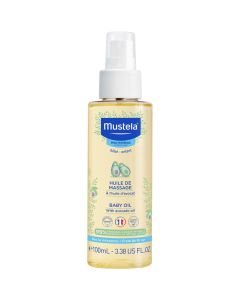 Mustela Baby Oil With Avocado Oil, 100ml